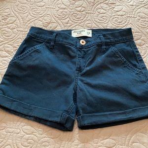 Girls Abercrombie kids shorts